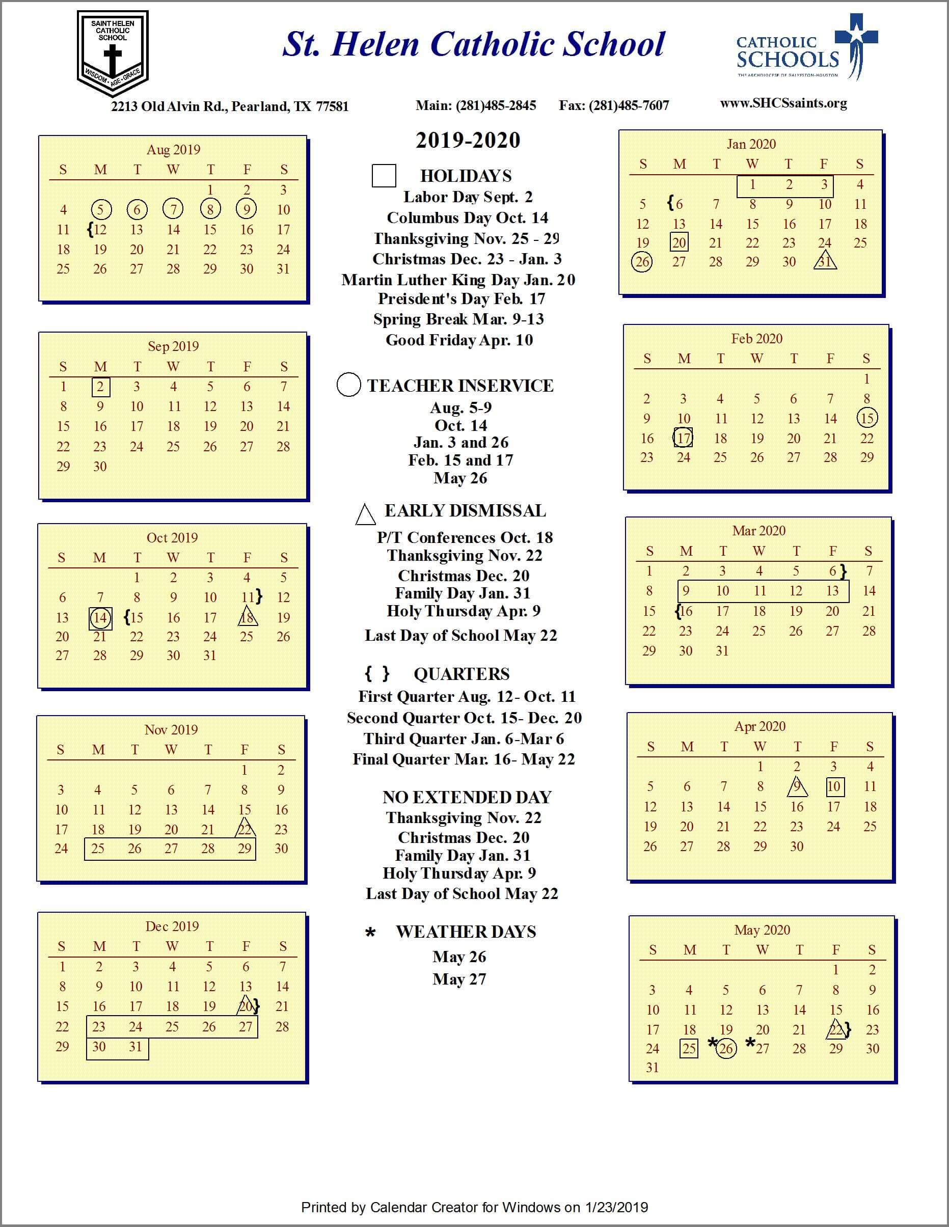 285585d7f28 Test : Saint Helen Catholic School